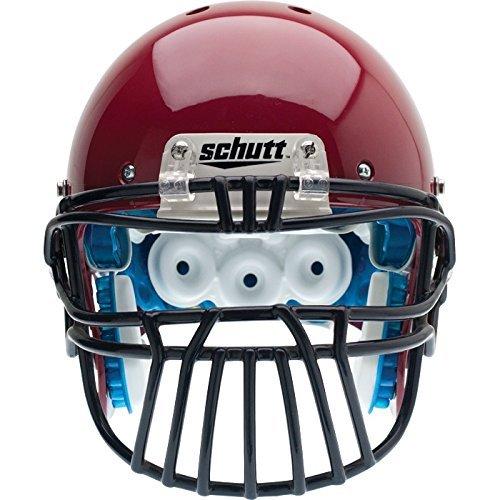 Schutt Sports ROPO DW SLT II XL Super Pro Carbon Steel Football Faceguard Black [並行輸入品] B072Z77R6F