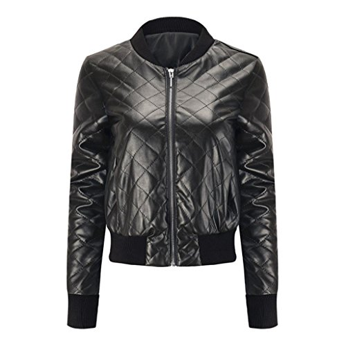 Black Jacket Winter Blouse Leather Overcoat Warm Top Slim Fashion Winter Women Jacket Lapel huichang Coat qBw6P0UW