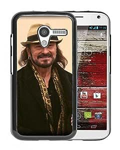 Beautiful Designed Cover Case With Stan Borys Smile Beard Coat Hat For Motorola Moto X Phone Case