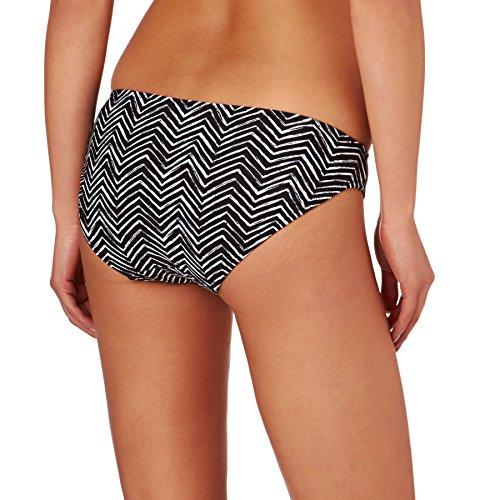 Marie Meili Fran�oise Black Geometric Bikini Brief MMS16S3303