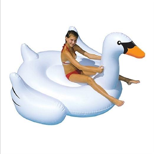 wenzhi Chihuahua hinchable Cisne Pool Float niños Natación ...