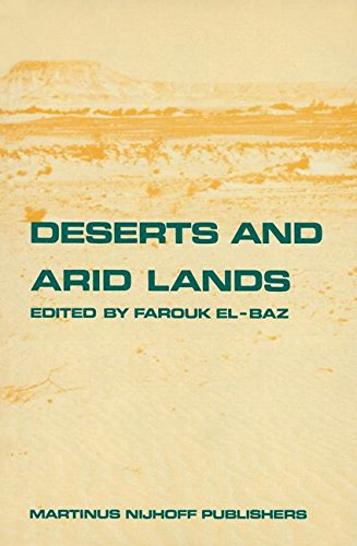 Deserts and Arid Lands (Remote Sensing of Earth Resources and Environment)