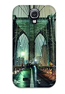 High Quality Craigmmons Brooklyn Bridge Man Made Other Skin Case Cover Specially Designed For Galaxy - S4