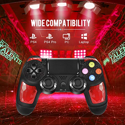 PS4 Controller ORDA Wireless Gamepad for Playstation 4/Pro/Slim/PC/Smart TV and Laptop with Vibratio - coolthings.us