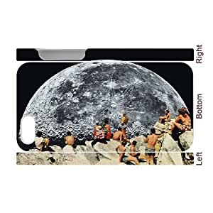 3D diy case MOONRISE Cases for iphone 6 4.7 Printed, iphone 6 4.7 Case Men for Teen Girls with White