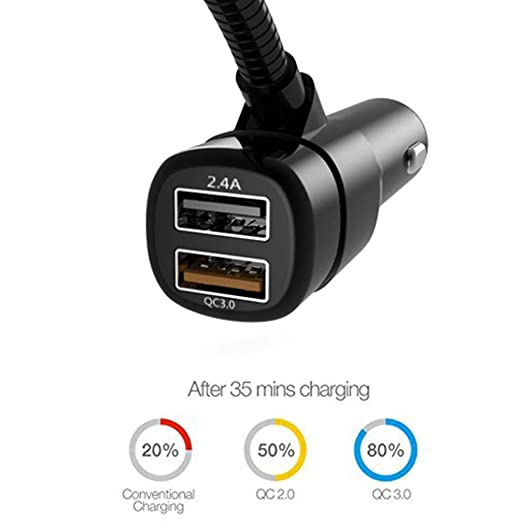 Amazon.com: YRD TECH Wireless Car FM Transmitter-Wireless Radio Adapter QC3.0 USB Charger Mp3 Player (Black): Cell Phones & Accessories