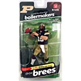McFarlane Sportspicks: NCAA Football Series 2 Drew Brees (Purdue Boilermakers) Action Figure