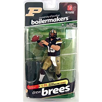 0e70988a059 McFarlane Sportspicks: NCAA Football Series 2 Drew Brees (Purdue  Boilermakers) Action Figure