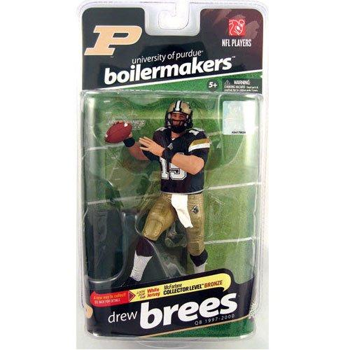 Price comparison product image McFarlane Sportspicks: NCAA Football Series 2 Drew Brees (Purdue Boilermakers) Action Figure