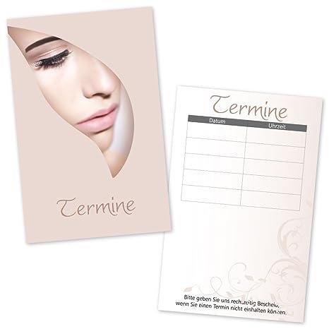 100 Kosmetikstudio Formulare Dokumentation Terminkarten