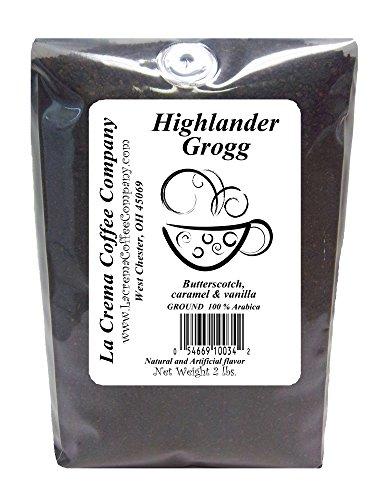 La Crema Coffee Highlander Grog, 2-Pound Package