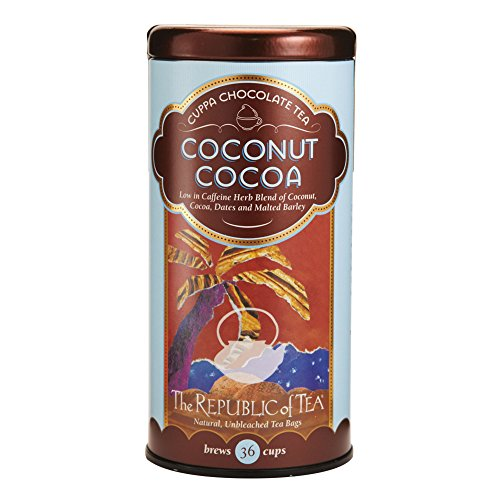 (The Republic of Tea, Coconut Cocoa Herb Tea, 36-Count)