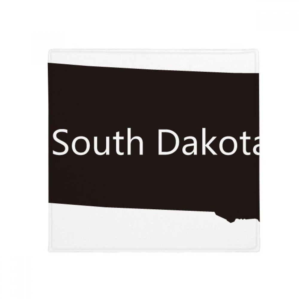 DIYthinker South Dakota USA Map Silhouette Anti-Slip Floor Pet Mat Square Home Kitchen Door 80Cm Gift