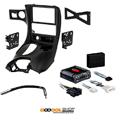 - METRA DP-3021B Double DIN Dash Installation KIT for 1997-2004 Chevy Corvette C5