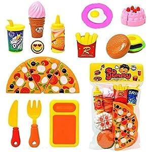 Omovi Plastic Kitchen/Restaurant Role Pretend...