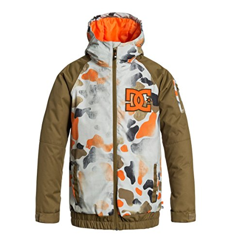 DC Big Boys' Troop Boy Snow Jacket, Desert Camo Youth, ()