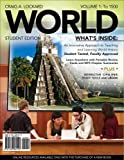WORLD, Volume 1 (with Review Cards and History CourseMate with eBook, Wadsworth World History Resource Center 2-Semester Printed Access Card) (Available Titles CourseMate)
