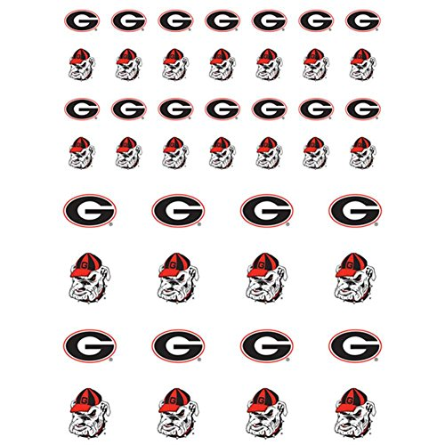 NCAA Georgia Bulldogs Fanatic Group Sticker Sheet