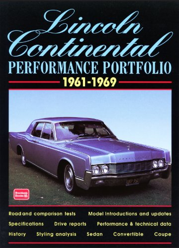 Lincoln Continental 1961-1969 Performance Portfolio