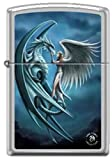 """""""Silverback – Dragon and Angel"""" by Anne Stokes – Zippo Lighter"""