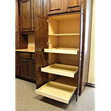 "Roll-Out Shelf Cabinet Pull-Outs for Kitchen, Bathroom, Closet or storage, 22""Depth x 13""Wide x 4""Height"