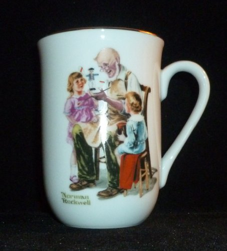 Norman Rockwell The Toymaker Coffee Mug