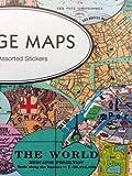 Cavallini & Co. Stickers Vintage maps Label/map