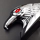 BHYShop Eagle Head Ornament Statue For Motorcycle