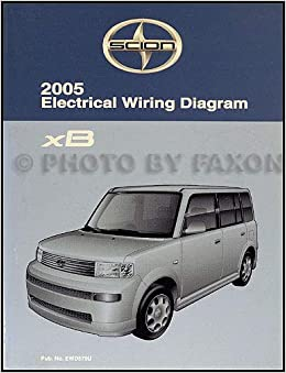 2005 scion xb electrical wiring diagram scion amazon com books