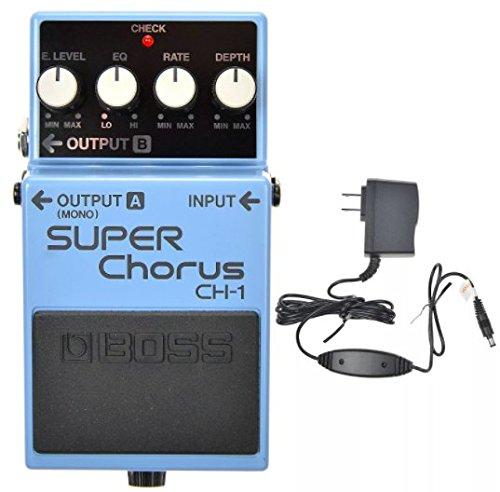 Boss CH-1 Super Chorus and Boss PSA-120S2 Power Supply (Boss Super Chorus)
