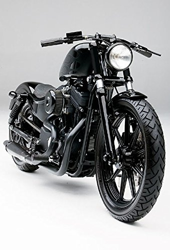 JBSporty ♤ Harley Davidson Sportster ♤ Black out Vinyl Decal Fork Kit ♧ Iron 72 Nightster - Parts Harley Sportster Davidson