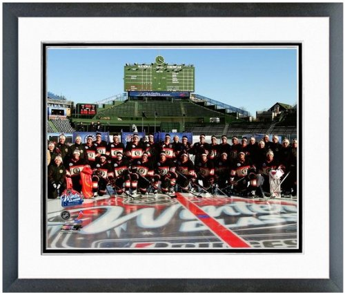 Chicago Blackhawks Wrigley Field Winter Classic Team Photo (Size: 12.5