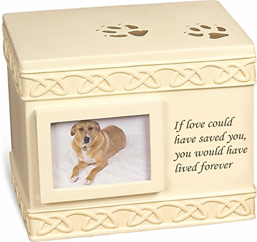 (MMP Living Pet Urn Memorial If Love Could Have Saved You. - Bottom Opening)