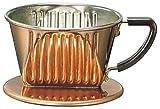 Kalita copper coffee dripper 2-4 people for 102-CU