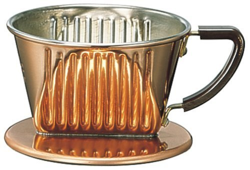 Kalita copper coffee dripper 2-4 people for 102-CU by Kalita