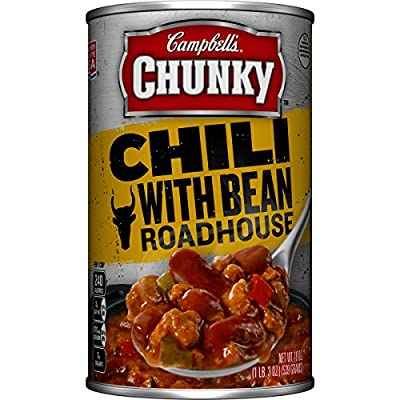 Campbell's Chunky Chili, Beef & Bean Roadhouse, 19 Ounce