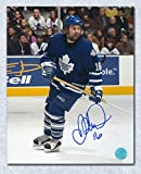Darcy Tucker Toronto Maple Leafs Autographed Action 8x10 Photo