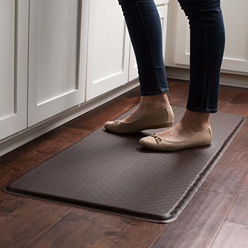 """GelPro Classic Anti-Fatigue Kitchen Comfort Chef Floor Mat, 20x48"""", Linen Granite Gray Stain Resistant Surface with 1/2"""" Gel Core for Health and Wellness by GelPro (Image #6)"""