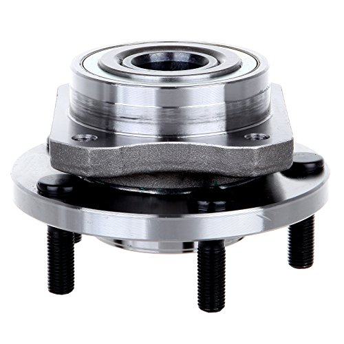 Wheel Hub ECCPP Nave of Wheel Bearing Assembly for Front Wheel 5 Lugs for Chrysler Town/Dodge Caravan/Plymouth Grand Voyager/Plymouth Voyager 1996-2007 513123 (Front Hub Voyager Plymouth)
