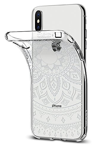 Price comparison product image Spigen Liquid Crystal iPhone X Case with Slim Protection and Premium TPU for Apple iPhone X (2017) - Shine Crystal Clear