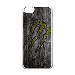 Monster Energy For iPhone 5C Phone Case & Custom Phone Case Cover R80A650812