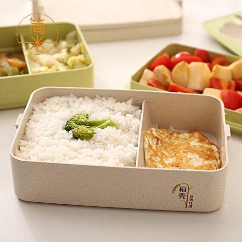 IYEARN Mense per studenti studenti studenti giapponesi mense semplici scatole per il pranzo divisori a microonde scatole per alimenti scatole isolanti multistrato per il pranzo, 3 strati di polvere   A Buon Mercato    Prezzo ottimale    Consegna veloce    A Primo Posto  ccc443
