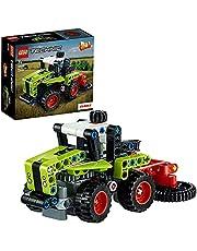 LEGO 42102 Technic Mini CLAAS XERION, 2-i-1 Byggsats med Traktor, Leksak för Barn 7+ år