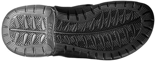 Crocs Swiftwater M, Infradito Uomo Grigio (Graphite/Black)