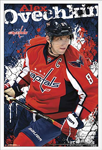 Trends International Washington Capitals - Alexander Ovechkin Wall Poster, 24.25