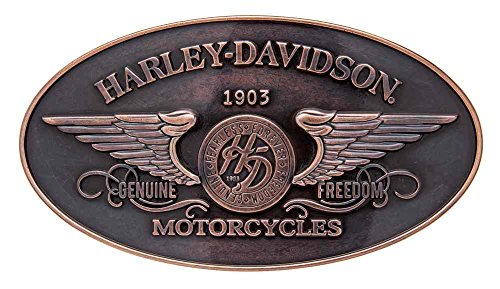 Harley-Davidson Women's Genuine Freedom Belt Buckle, Antique Copper HDWBU10965
