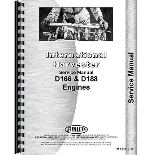 New International Harvester S-7B Wheel Loader Engine Service Manual ()