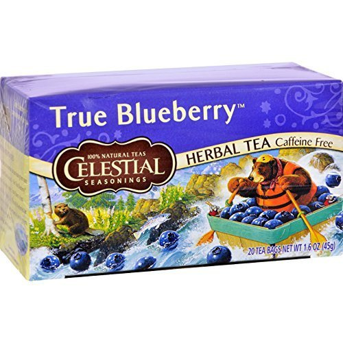 Celestial Seasonings Tea Blueberry Herb 20 Bg by Celestial Seasonings