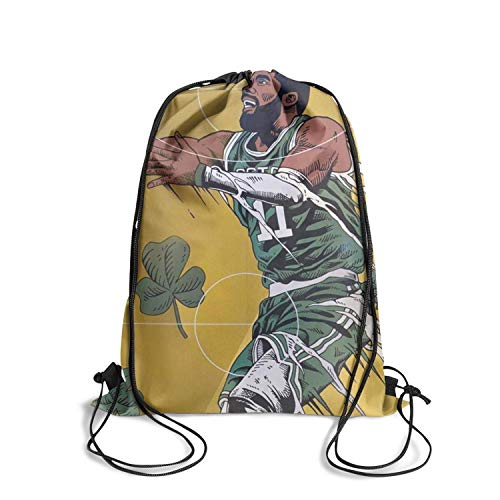 Eoyles Personalized Shopping Bag Women NFL Stadium Approved Sinch Drawstring Backpack Bag ()