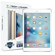 iPad Mini 4 Glass Screen Protector, Tech Armor Premium Ballistic Glass Apple iPad Mini 4 Screen Protectors [1]